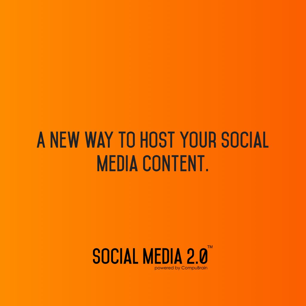 With Social Media 2.0: https://t.co/i4uiw7wPXi   #SocialMedia #contentstrategy #DigitalContent #SearchEngineOptimization #DownloadSocialContent https://t.co/8eVr0ILsC6