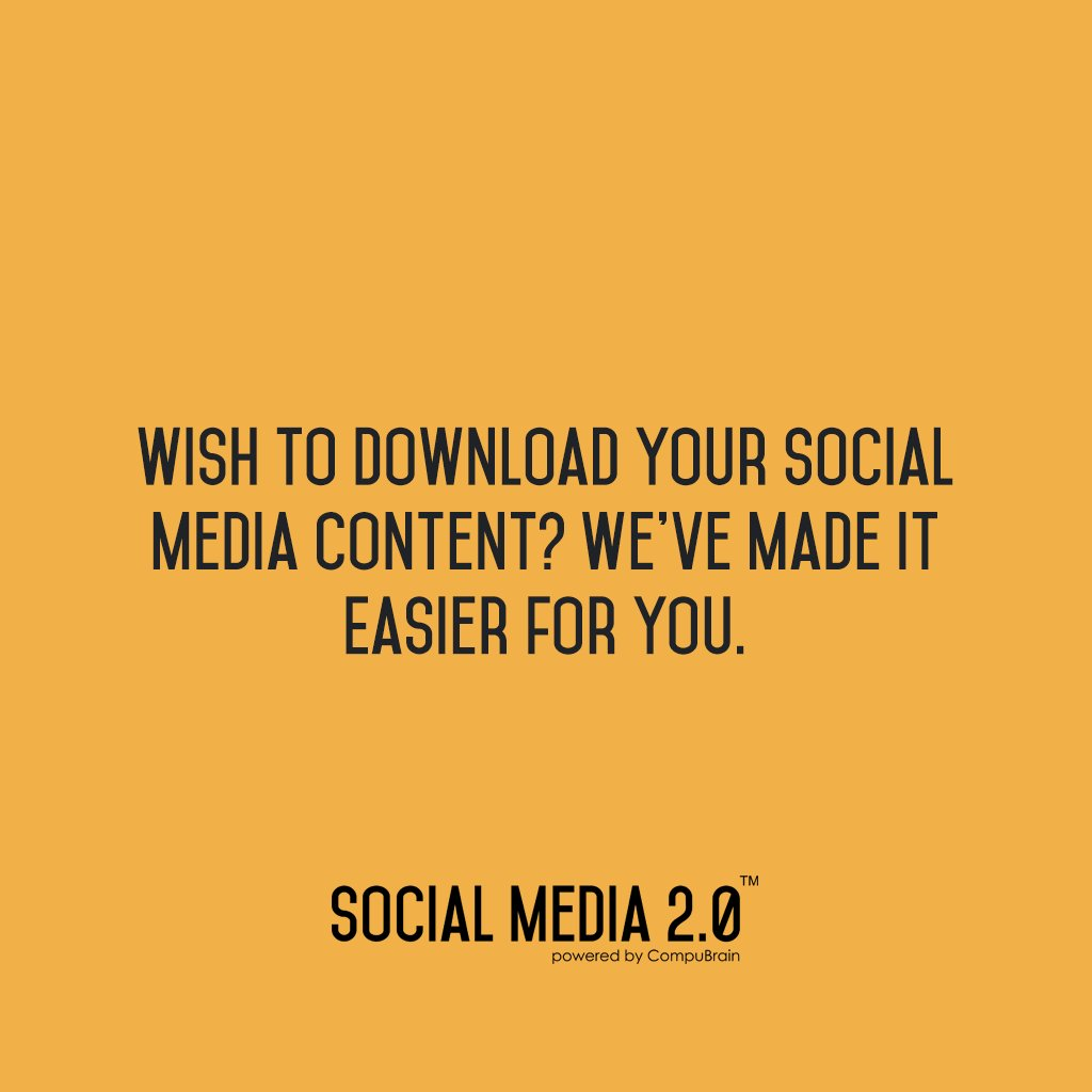 We've made it easier for you!  Visit this to know more about Social Media Engine -> https://t.co/oC7vAJYr6u  #SocialMedia2p0 #SocialMediaEngine #SearchEngineOptimization #ContentManagement #ContentStrategy #socialmediastrategy https://t.co/FZgk0QnAj6