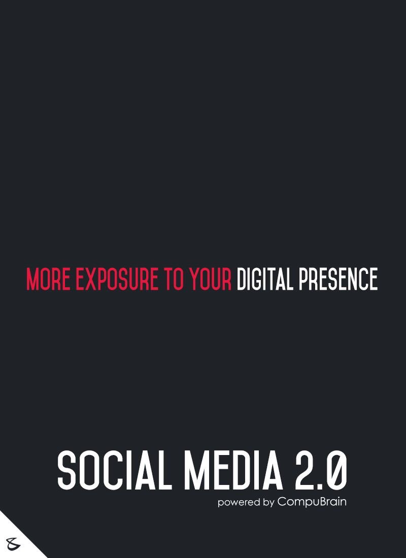 Take your #digitalpresence to the next level. #socialmediamarketing #sm2p0 #digitalstrategy @CompuBrain #SMSSummit https://t.co/sBofngYrfI