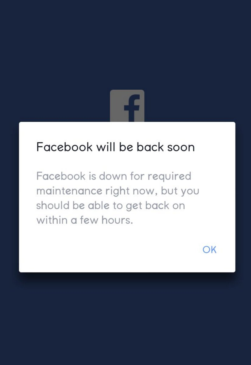 Just because these #socialplatforms can ditch you anytime, go for @SM2p0 ! #facebookisdown https://t.co/0XdDXhz11Y