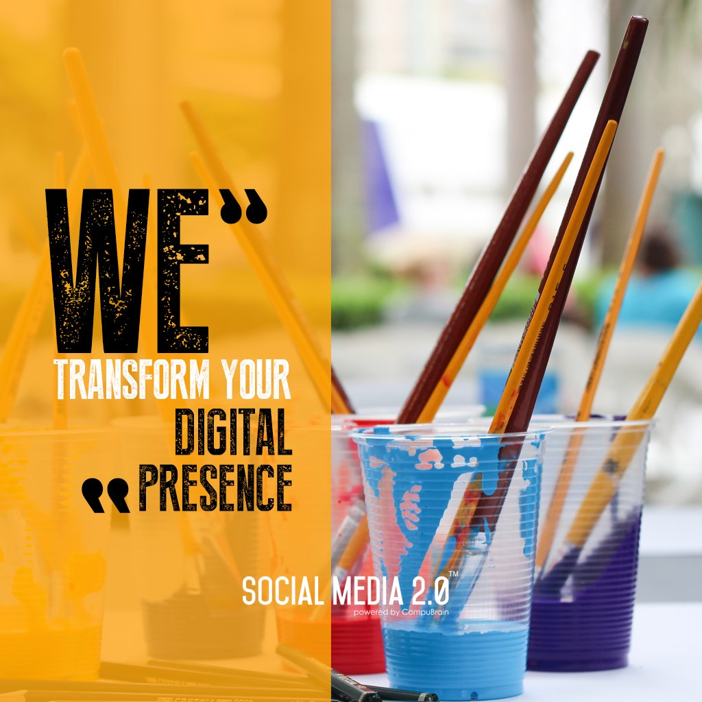 We transform your #DigitalPresence!  #SocialMedia2p0 #sm2p0 #contentstrategy #SocialMediaStrategy #DigitalStrategy https://t.co/uIHDEC0UZ4