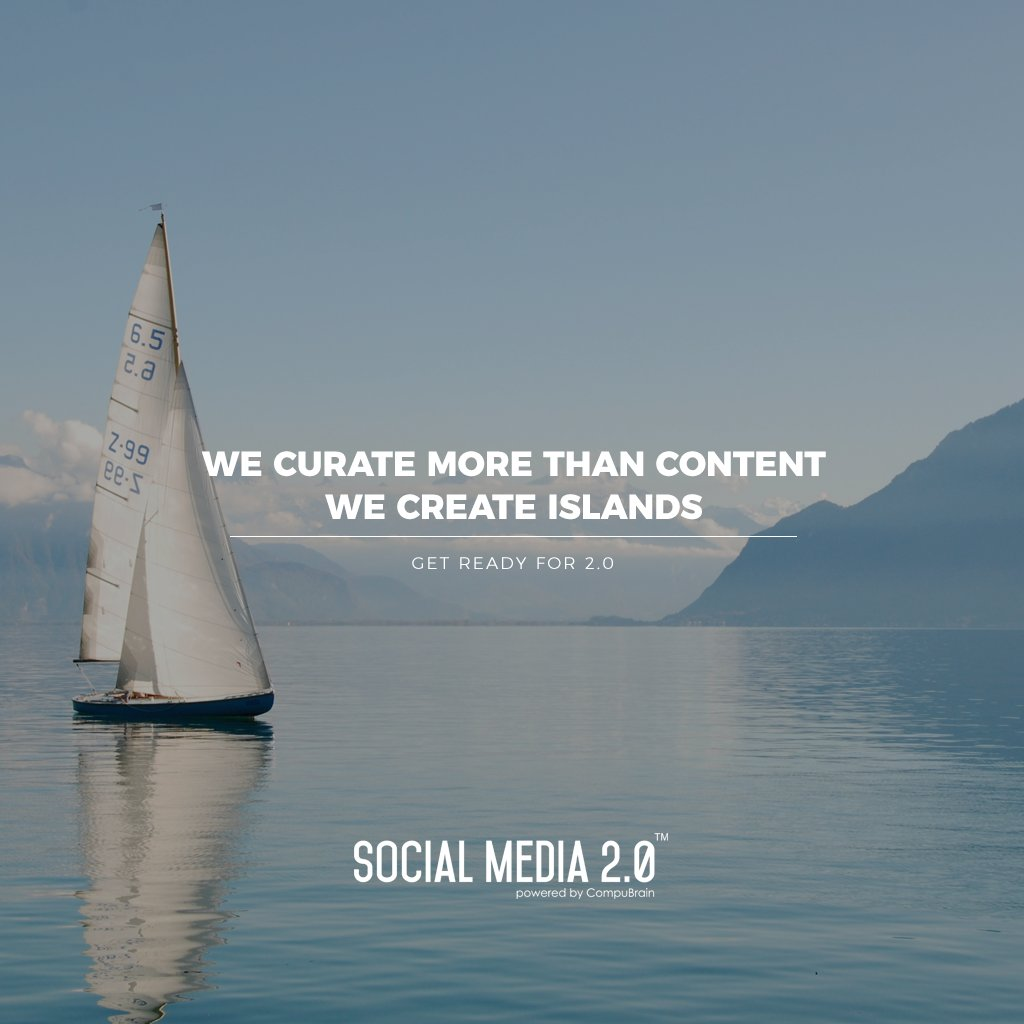 RT @SM2p0: Creating content islands!   #SocialMedia2p0 #sm2p0 #contentstrategy #SocialMediaStrategy #DigitalStrategy https://t.co/9Coz1INV2Z