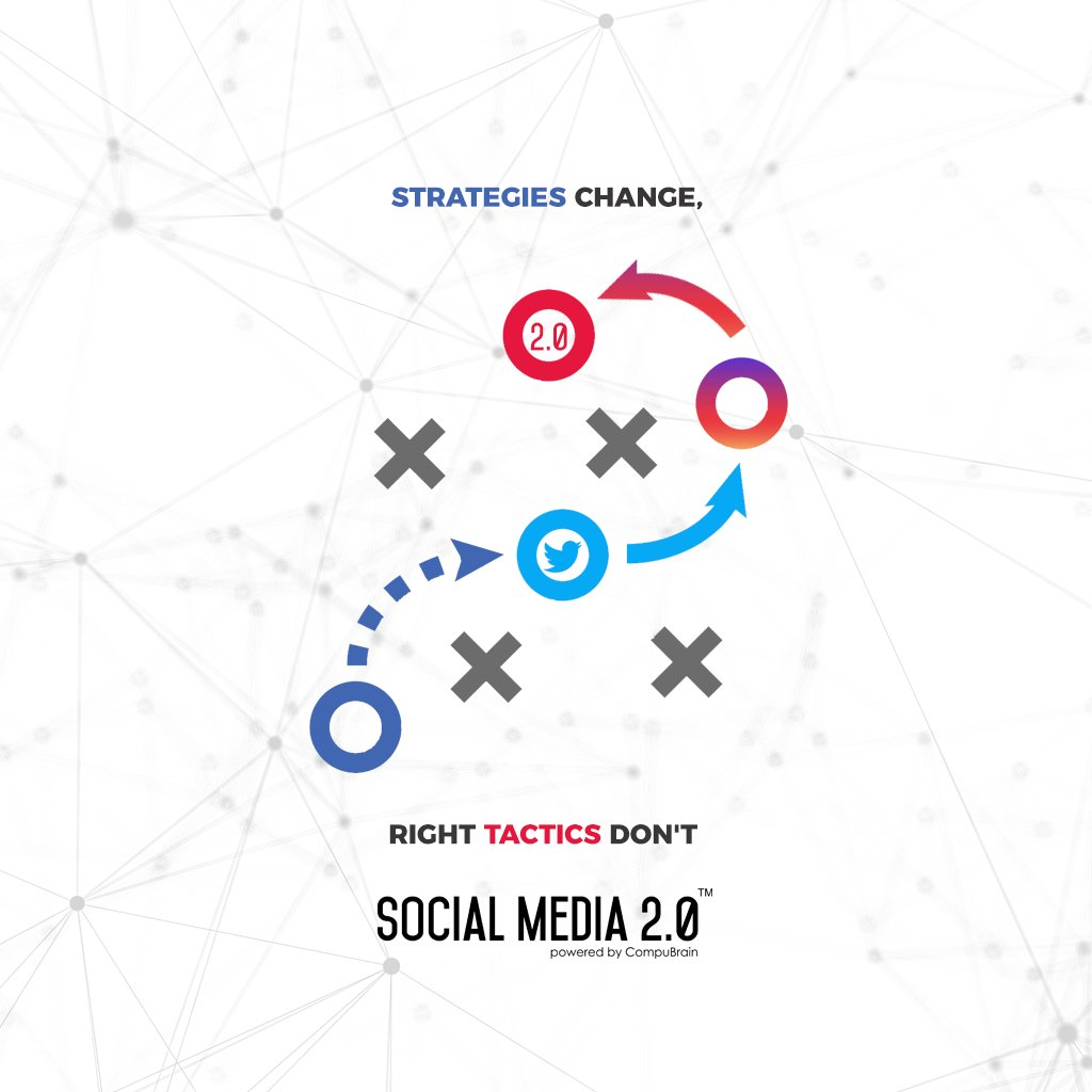 Strategies Change, Right #Tactics Don't  #SearchEngineOptimization #SocialMedia2p0 #sm2p0 #contentstrategy #SocialMediaStrategy #DigitalStrategy #DigitalCampaigns https://t.co/0gSwy4pvj6